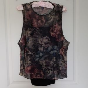 American Eagle ladies camisole blouse